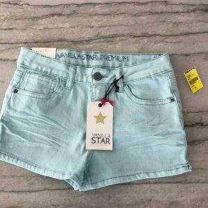 NWT Girls size 12 blue shorts